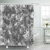 Not applicable Duschvorhang Khaki Camo Modern Kreative Kryptek Camouflage Patterns Navy Abstrakter Duschvorhang,72X72 In