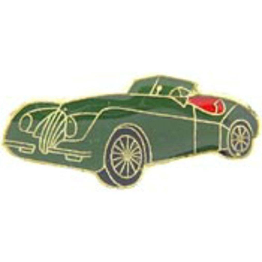 EagleEmblems P63782 Pin-Car,Roadster,Green (1'')
