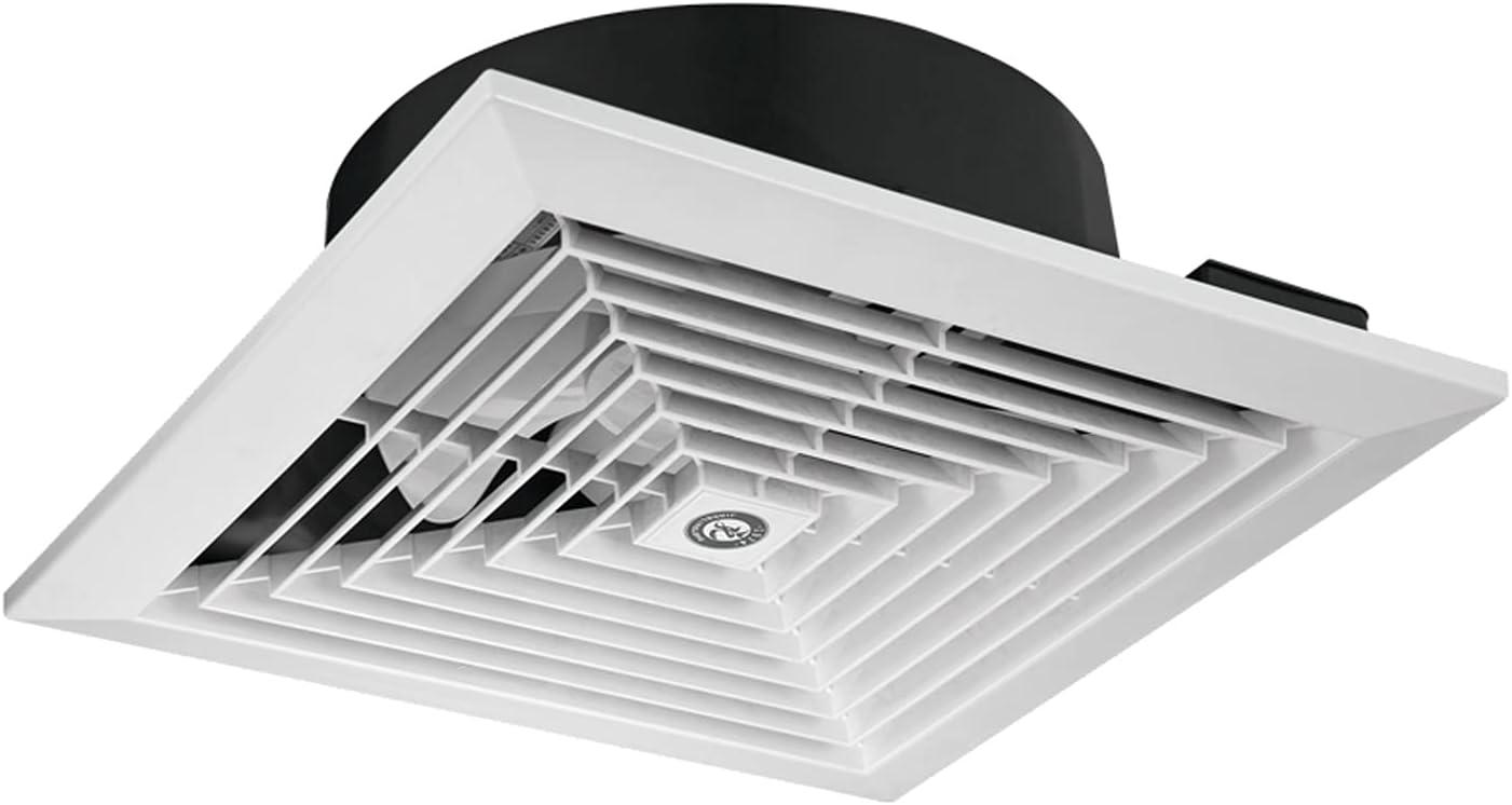 Xu Yuan Jia-Shop Ventilador Extractor Ventilador de Escape de Techo Baño Cocina Techo Techo 5 Hoja Ventilador de ventilación 8