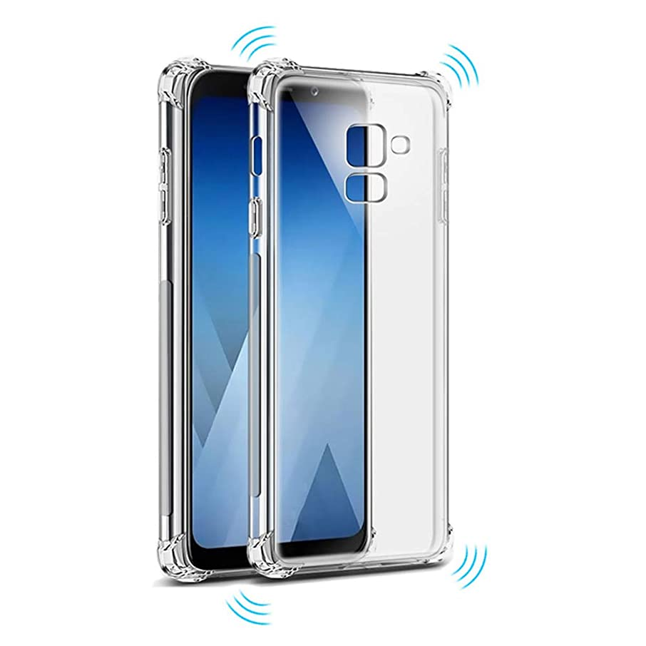 Crystal Transparent Slim Anti Slip Airbag Case Shockproof Back Cover Soft TPU Phone Case for Galaxy J7 Pro 2017 J730 J730F SM-J730G/DS SM-J730F/DS SM-J730FM/DS SM-J730GM/DS