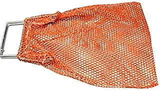 SGT KNOTS Mesh Catch Bag w/Galvanized Wire Handle - Nylon Scuba Dive Bag - Game Bag/Fish Bag for Diving & Snorkeling - Net...
