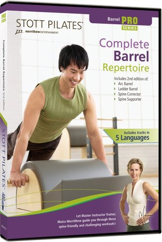 STOTT PILATES komplett Barrel Repertoire 2nd Edition (6Sprachen)