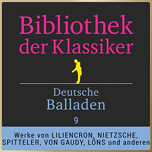 Deutsche Balladen, Teil 9 cover art