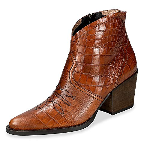 Paul Green 9666 Damen Stiefelette Cognac, EU 37,5