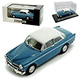 Whitebox Volvo Amazon 130 Coupe Blau mit Weiss 1956-1970 limitiert 1 von 1000 Stück 1/43 Modell Auto