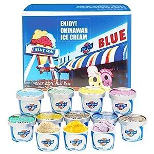 沖縄のアイス「ブルーシール詰合せギフト12」