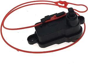Fuel Flap Door Cap Release Lock Actuator for Audi A1 A3 A6 Q3 Q7 Replace 4L0862153D 4L0 862 153 D
