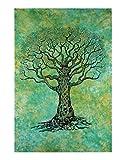 Ava Collections handgefertigtes Batik-Baum Mandala