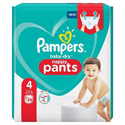 Pampers 81713144 BabyDry Pants windelhose, Weiß, 24 stück