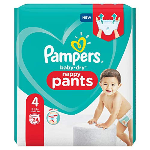 Pampers 81713144 - Baby-dry pants pantalones, unisex
