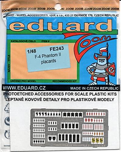 Eduard Accessories fe243 Modélisme Accessoires F 4 Phantom II placards
