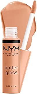 NYX PROFESSIONAL MAKEUP Butter Gloss - Fortune Cookie (True Nude), Non-Sticky Lip Gloss