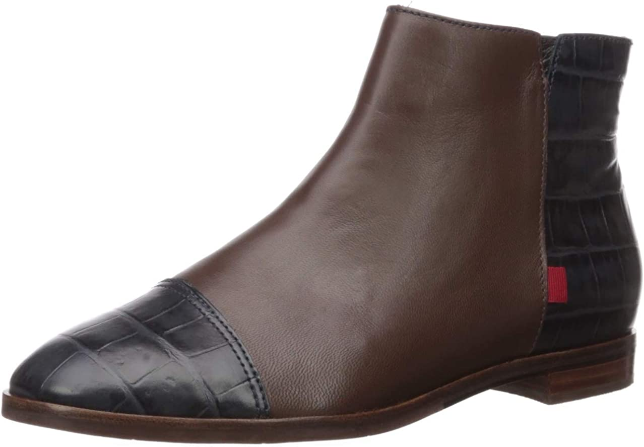 Marc Joseph New York Outlet sale feature Women's Leather Zip Up Made Tulsa Mall Brazil Ankle in
