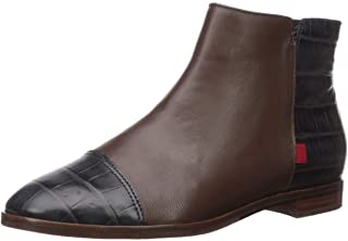 Women's Leather Made in Brazil Ankle Zip Up Bootie Boot