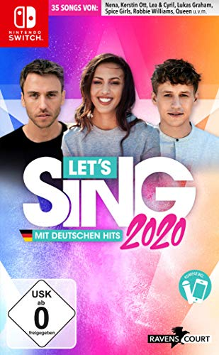 Let's Sing 2020 mit deutschen Hits [Nintendo Switch]