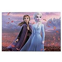 アナと雪の女王 (2) 1000ピース ジグソーパズル 環境保護、無臭、知的開発、親子ジグソーパズル!益智減圧 子供大人の大きなジグソーパズル おしゃれ 萌えグッズ 漫画の周辺 ギフトプ 75.5*50.3 Cm