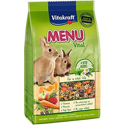 Vitakraft Cibo per Conigli Nani, 3kg