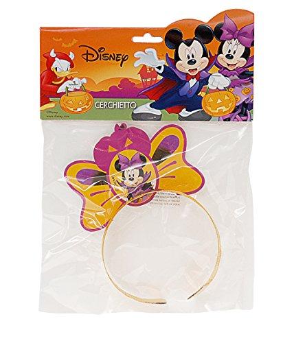 Ciao 29016 – haarband Halloween Disney Minnie, oranje