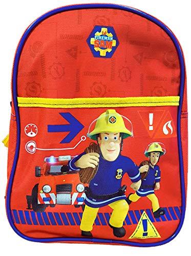 Bagage (zakken, schooltas, etui, paraplu) licentie fantasie: Mickey, Paw Patrol Peppa Pig Pyjamask (Sam Brandwehrmann rugzak, 29 x 22 x 9 cm)