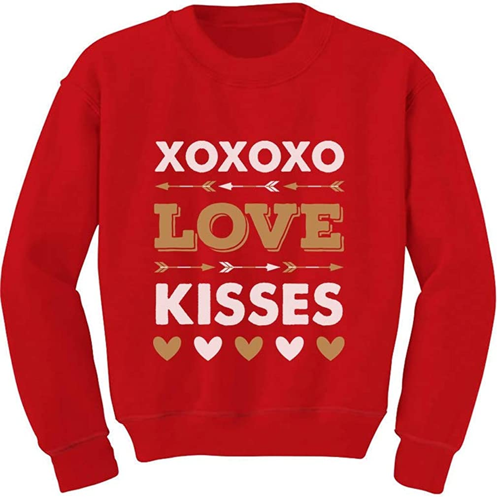 Valentine/'s Day XOXO Heart Off the Shoulder Black Sweatshirt slashed or solid back XS S M L XL Plus Size 1x 2x 3x 4x 5x