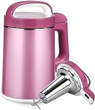 BMMMZ Rose Automatique soja Lait Machine Soyquick Blenders de qualité Alimentaire en Acier Inoxydable Facile à Nettoyer av...