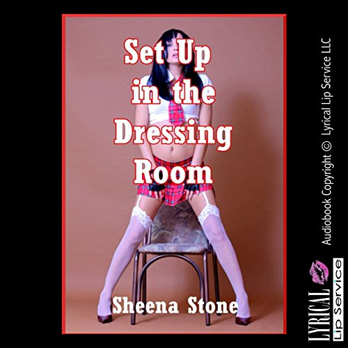 Set Up in the Dressing Room: A Very Rough Group Sex Erotica Story with Double Anal Penetration audiobook cover art