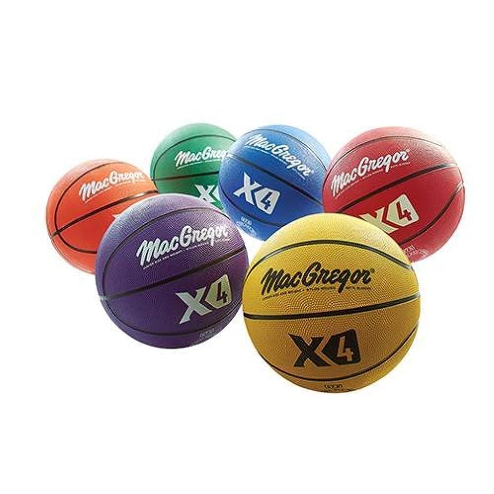 MacGregor Multicolor Basketballs (Set of 6) - Junior Size (27.5