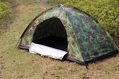 Sutekusテントコンパクト迷彩柄キャンプテントソロテント小型テント防災緊急【アウトドア用品】(一人用)