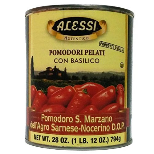 Alessi - Certified San Marzano D.O.P. Tomatoes,...