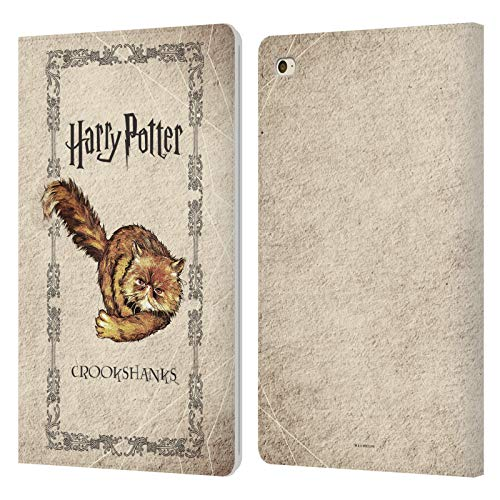 Officiële Harry Potter Crookshanks Kat Gevangene van Azkaban III Lederen Book Portemonnee Cover Compatibel voor Apple iPad mini 4