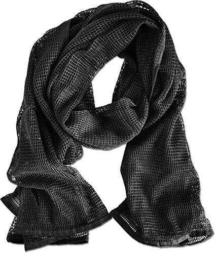 normani Netzschal zur Tarnung 190 x 90 cm Farbe Schwarz
