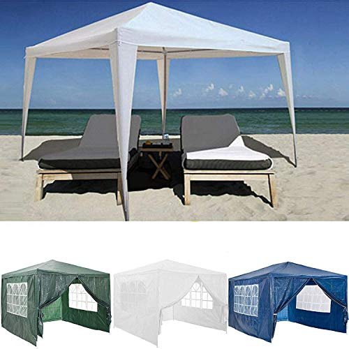 All Seasons Garden Heavy Duty Gazebo Marquee Party Tent Canopy for Wedding Outdoor Camping Beach 3x3M 3x4M 3x6M with 6 Side Panels, Waterproof
