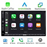 Autoradio ATOTO Double Din - SA102 Starter (YS102SL), CarPlay e Android Auto, Link mirroring del telefono, Bluetooth, Radio, Video e audio USB