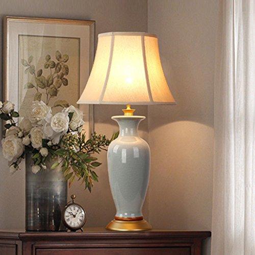 Hgwww Lámpara de mesa de cerámica - La mejor serie de lámparas de mesa de cerámica en Amazon Mall (VC18745) - Primera calidad de la clase hgwww (Color : A)