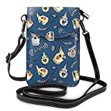XCNGG bolso del teléfono Small Crossbody Cell Phone Purse Wallet with Credit Card Slots Lightweight Roomy Adjustable Shoulder Strap Cattle Cactus Crossbody Bags Handbags for Women