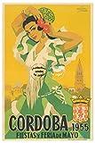 Herbé TM Feria Cordoba 1955 Rf157 Poster / Kunstdruck, 60