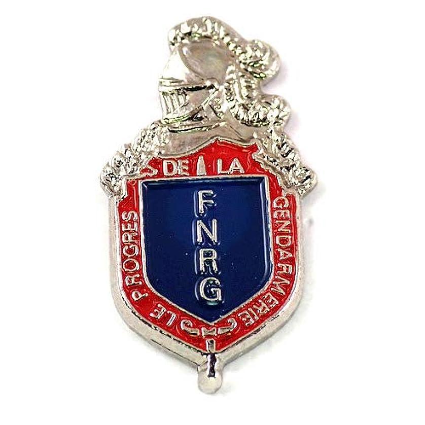 混乱させるそのような急いで限定 レア ピンバッジ 紋章と騎士ジャンダルムリ警察ポリス国家憲兵隊 ピンズ フランス