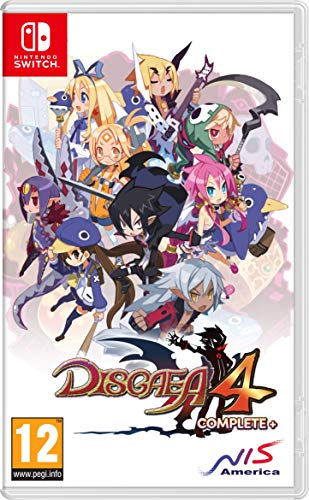 Disgaea 4 Complete+ (Switch) - Nintendo Switch [Importación inglesa]