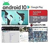 Android 10 on Raspberry Pi 4B (128GB 高速型 MicroSD)
