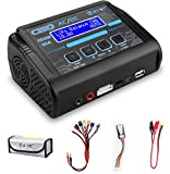 Lipo Battery Charger,Balance Charger Discharger 150W 10A AC/DC for Li-Po Li-Hv Li-Ion Li-Fe NiMH Ni-Cd Pb(RC Battery Charger)