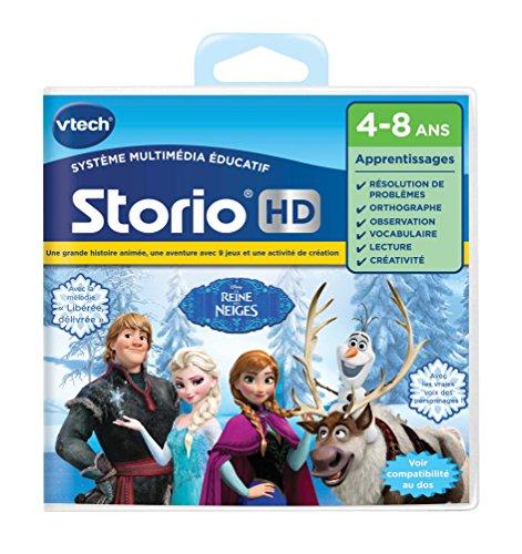 Vtech - 274505 - Jeu Pour Tablette - Hd Storio - La Reine Des Neiges - Version FR