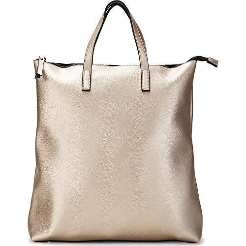 Cox Damen Trend-Rucksack Silber Metallic 0