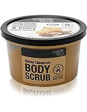 Organic Shop Body Scrub Natural Cinnamon och Honey 250 ml
