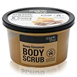 Organic Shop Honey Cinnamon Body Scrub, 250 ml