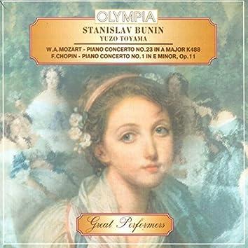 Stanislav Bunin plays Mozart & Chopin
