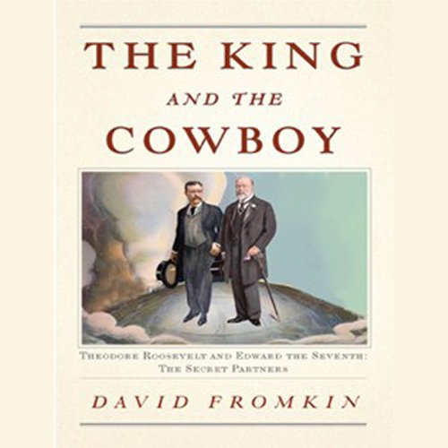 The King and the Cowboy audiobook cover art