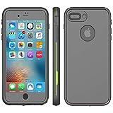 iPhone 8 Plus & 7 Plus Waterproof Case - Underwater Snowproof Dirtproof Shockproof Cover