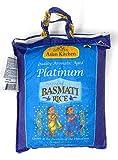 Asian Kitchen Platinum White Basmati Rice Extra Long Aged, 4 Pound (4lbs, 1.81kg) ~ All Natural |...
