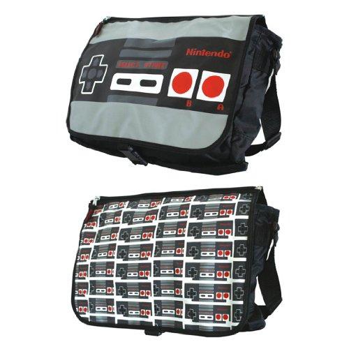 NINTENDO - Reversible Flap Messenger Bag