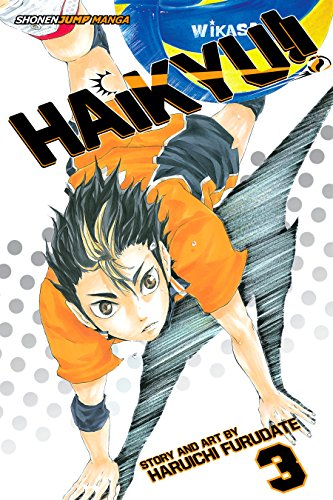 Haikyu!!, Vol. 3: Go, Team Karasuno! (English Edition)